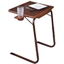 Tv Tray Table Folding Tables Walmart Tablemate With Cup Holder Woodgrain Finish