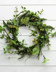 berry wreath large foliage berry wreath rustic roots