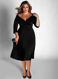 how to buy the best plus size black dresses fashioncold