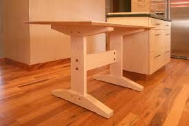 Handmade Custom Kitchen Table By Black  Sons Furniture Makers - Custom kitchen table