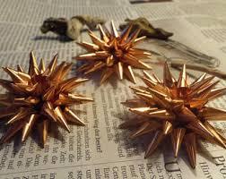 copper tree ornament etsy