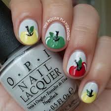 from the readers fall nail art will paint nails for food