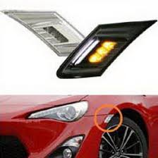 led side marker lights scion fr s subaru brz toyota 86 led side marker lights