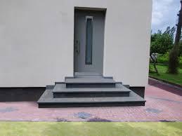 treppe auãÿen details zu treppe aussen haus eingang podest naturstein granit