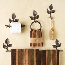 Bathroom Accessories Bronze by Rustic Towel Bars And Lodge Bathroom Accessories