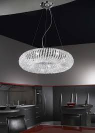 crystal pendant lights kitchen furniture home white elegant light crystal chandelier pendant