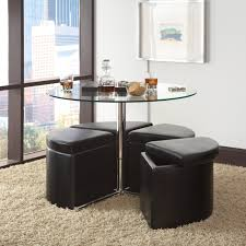 standard furniture cosmo adjustable height round glass top coffee