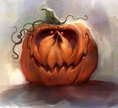 jack o u0027 lantern digital painting by ryan wood halloween