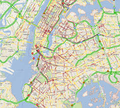 New York City Area Map by What New York City Looks Like Without Mass Transit Zdnet