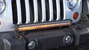 jeep light bar lazer star led light bar outfitted jeep wrangler youtube