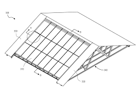 patent us20110252724 roof truss compatible for solar panels