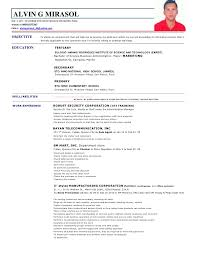 Sample Resume For Office Staff Position by Resume Format For Nursing Job