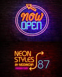 neon light font generator 25 realistic photoshop neon text effects pixel curse