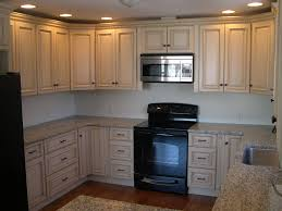 Antique Painted Kitchen Cabinets by Kitchen Excellent Ivory Colored Kitchen Cabinets In Your Room
