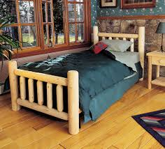 Pictures Of Log Beds by King Size Log Bed Rustic How To Mount King Size Log Bed U2013 Modern