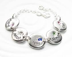 mothers bracelets with birthstones personalized birthstone mothers bracelet birthstone