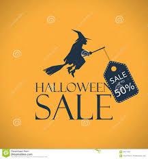 halloween sale background seasonal clearance stock vector image
