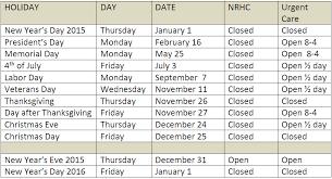 hours northeastern rural health clinics