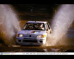 peugeot 205 rally peugeot 205 turbo 16 world rally champion 1985 1986 u2013 paris