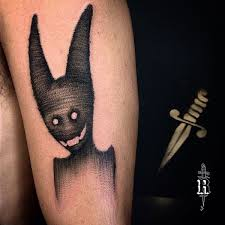 tattoo for men in hand tattoo demon shadow arm tattoo tattoo for men animals fantasy