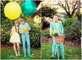 turquoise wedding chic vintage summer wedding yellow and turquoise