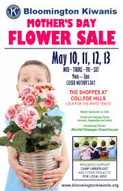 Mother S Day 2017 Flowers by Bloomington Kiwanis International