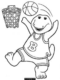 barney dinosaur coloring pages coloring pages kids collection