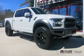 Ford Raptor Zombie Apocalypse - ford raptor with 22in black rhino warlord wheels butler tire