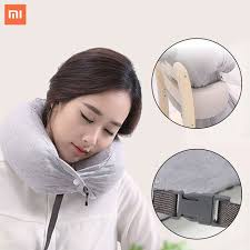 travel pillows images Original xiaomi 8h u1 neck pillow multi function u shape travel jpg