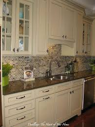 Backsplash Ideas For Kitchen With White Cabinets Backsplash This Could Still Keep Cabinets Just Add Furniture