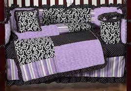 Purple Nursery Bedding Sets Furniture Exclusive Purple Baby Bedding For M28 About Home