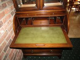 hekman desk leather top absolute auctions realty