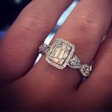 diamond ring cuts wedding ring cuts best 25 emerald cut engagement rings ideas on
