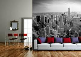 photographic wall murals wallpaper hdwallpaper20 com new york view black and white wall mural