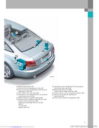 brake sensor audi a6 2005 c5 2 g electrics system training manual