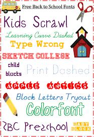 fonts free for back to blogging basics u2013 3 boys