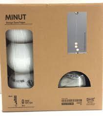 new ikea minut modern 3 strand ceiling pendant light lamp ebay