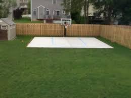 Backyard Pool And Basketball Court Photo Idea Book