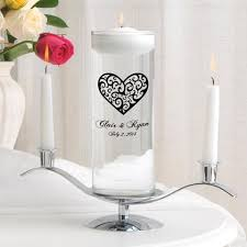 personalize candles personalized wedding candles unity candles wedding candle sets