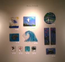 displaying fused glass mill creek glass art glass inspired by