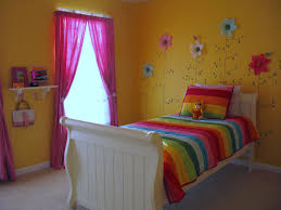 girls room bed loveyourroom little girls yellow flower bedroom