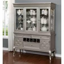 curio cabinet hutch buffet u0026 microwave carts