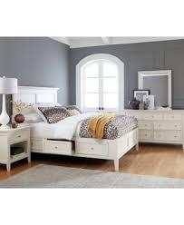 sanibel storage queen platform bed furniture macy u0027s