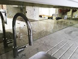 Mirror Backsplash by Everything About Glass Backsplash