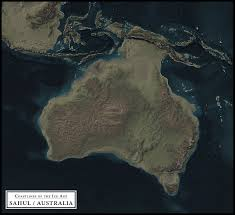 Ice Age Map North America by Coastlines Of The Ice Age Sahul Australia 6957x6356 Oc