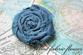 Fabric Flowers Rolled Fabric Flowers Tutorial Jones Design Company