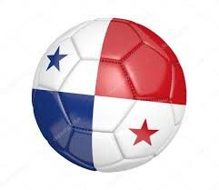 Football Country Flags Soccer Ball Or Football With The Country Flag Of Panama U2013 Stock