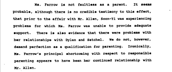 here u0027s the 1993 woody allen custody ruling in its damning