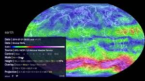 The World Map How To Use The Earth Wind Map Youtube
