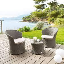 canapé de jardin 2 places salon de jardin 2 places résine tressée chaise pour salon de jardin